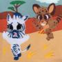 Cheetah and Zebra