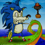 Sonic, The Hedgehog Freaky by dimitrikozma