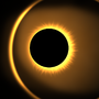 Solar Eclipse by carbonanimation