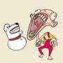 Stewie & Brian Griffin by Spazdables