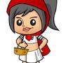 Punk red little riding hoods by Bantilan