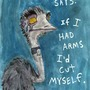 Emo Emu by RatsInTheWall
