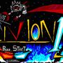 My Own 8Bit Game Start Screen by Oblivion17