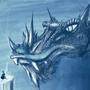 Ice-breathing dragon by Nqkoi1
