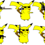 pikachus!!! by Kitsyfluff
