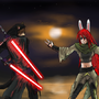 Jedi Showdown by Van-pl