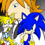 SONIC X.S. ::Cover:: by WhiteFireEclipse
