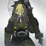 Dwarven axeman by MasterOfDarkArts