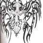 tribal cross by absol99