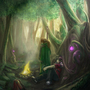A Good Place to Camp by Artist-Lost