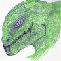 Reptile head by Satorion