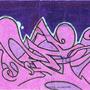 Purple Wildstyle Sticker by GOSTEONER