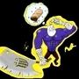 Burrito Dude Colored by Junctafunkis