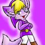 Purple Toon Link Fox by Sephyfluff