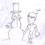 Josh and the Snowman by LurchMaster