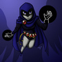 Raven - Teen Titans by medli20