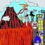 Future City Hero by RetroMonkey