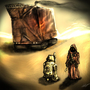 SteamPunk Star Wars: Tattooine by Death-In-Red-Satin
