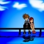 Kingdom Hearts-Sora & Kairi by FKim90