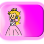 paper Princess peach by leaf1110