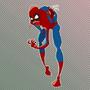 Zombie Spidey by mungo-raginbrain