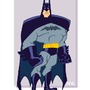 Super-Toon Batman by kevinbolk