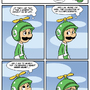 Sucks to be Luigi: Helmet by kevinbolk