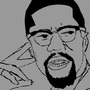 Malcolm X by Grub-Xer0