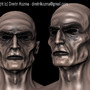 Zombie Modeling on Mudbox by dimitrikozma