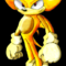 Super Sonic Photoshop Attempt