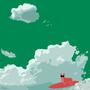 Cloud Surfer by inkleth