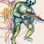 Skull dude by ngmastah