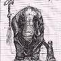 deaf elephant. by Spac3case916