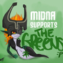 Midna Votes Green