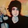 Self Portrait Acrylic by Iznvm