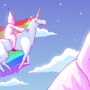 Robot Unicorn Attakkk by idiot-monarch