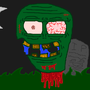 Zombie Head by RetroCo