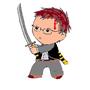 swordsman by oragairis
