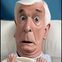 Leslie Nielsen by thecomecocos