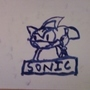 Whiteboard Sonic by BLACKNEND