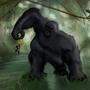 Gorilla by MinioN99