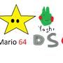 Super Mario 64 DS Star by dudeo57