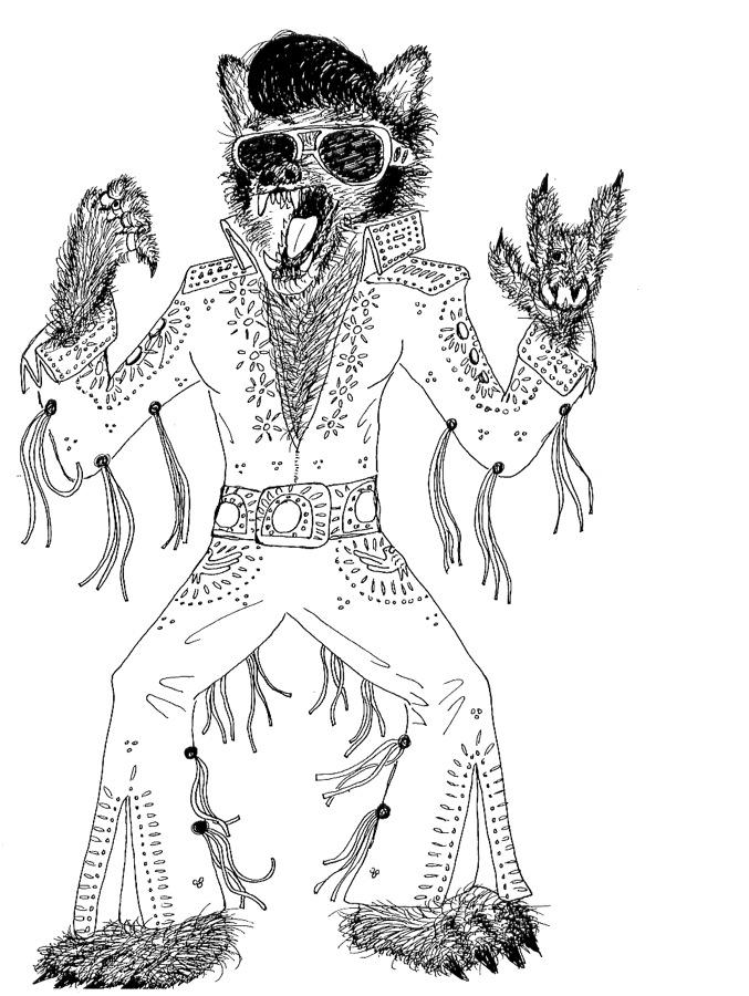 Werewolf Elvis
