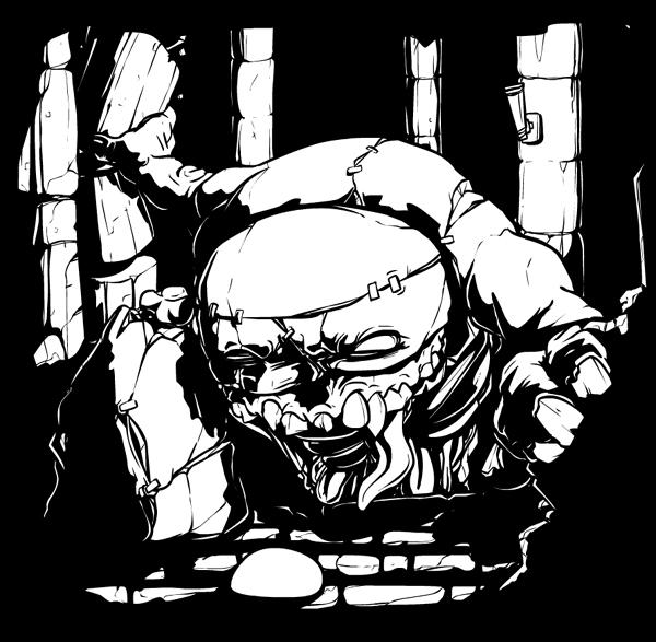 Gish 2 teaser art (ink)