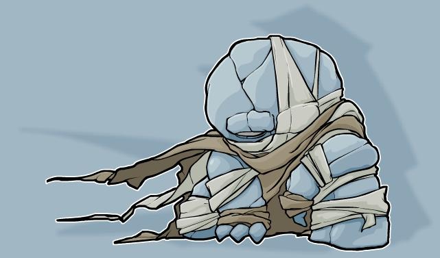 Gish 2 Character art (ghost)