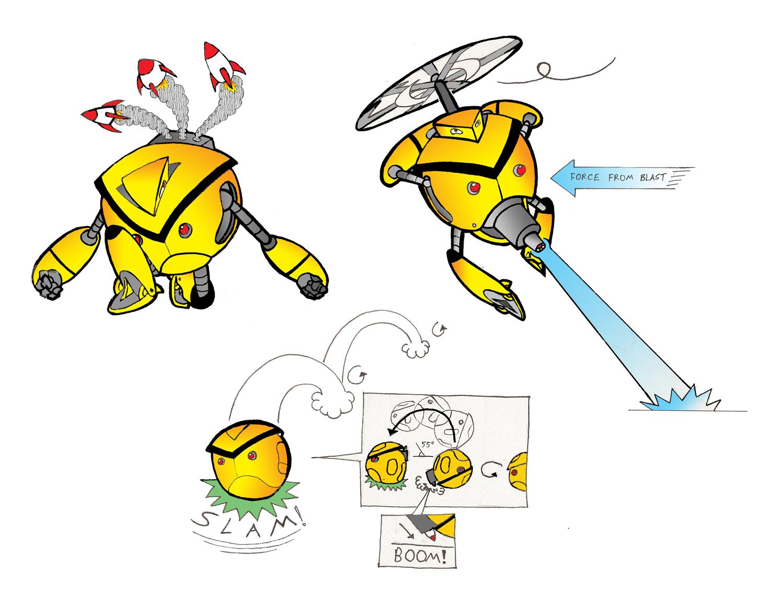 Angry Faic Bot - Blueprints 2