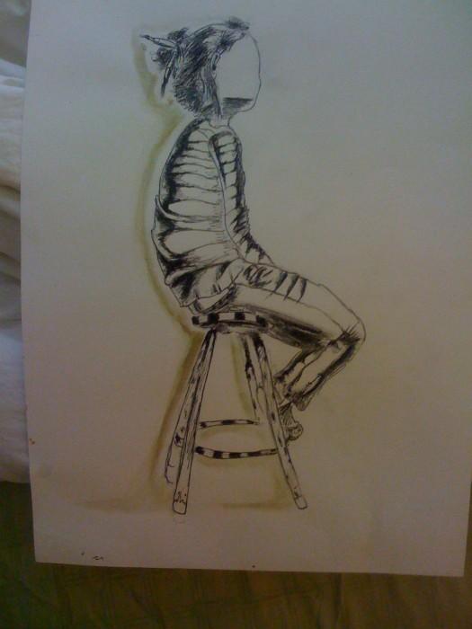 Girl on chair DOT JAYPEG
