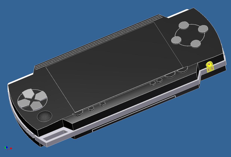 3D PSP Model