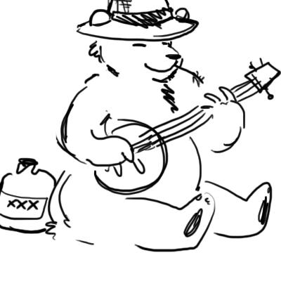 Bear With A Banjo