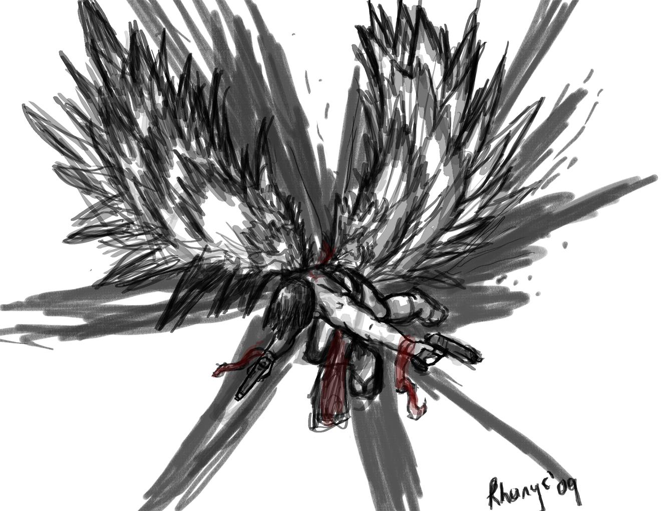 Angel with Guns